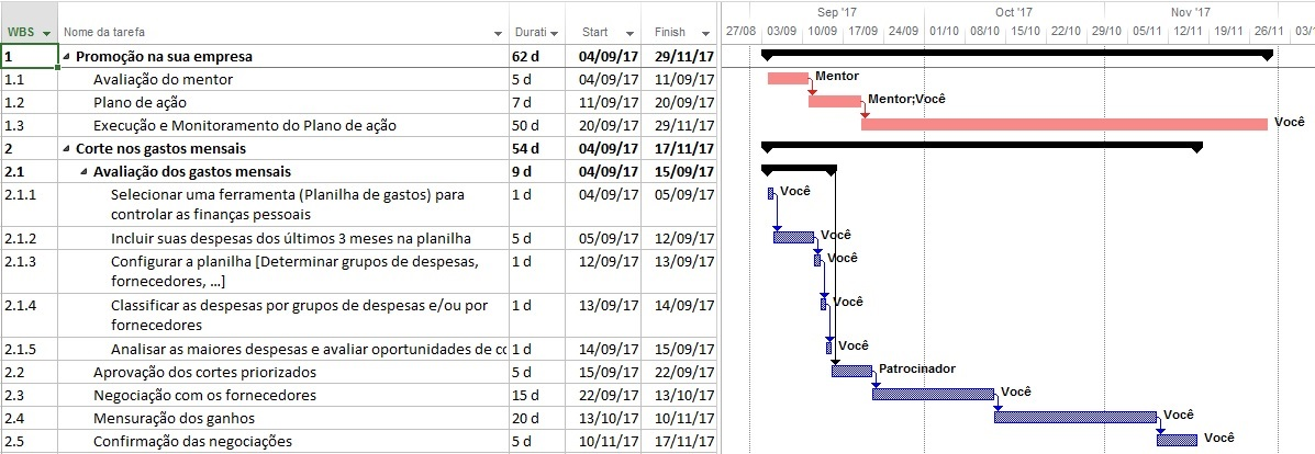 Cronograma Do Projeto